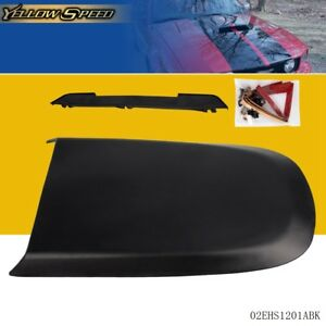 Front Racing Hood Scoop Vent For 2005 2009 Ford Mustang Gt V8 Black