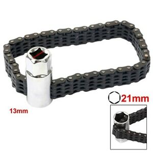 Universal Chain Oil Filter Wrench Chain Wrench Type 1 2 Square Drive Us Ship