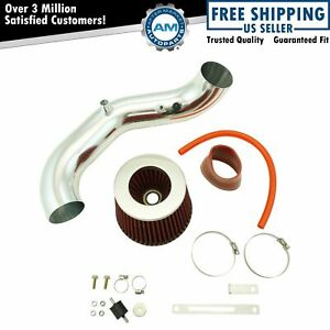 Performance Short Ram Air Intake Cai Assembly Red Filter For Acura Rsx New