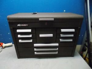 Kennedy 10 drawer Steel Tool Chest 26 1 8 X 12 1 8 X 18 7 8 Brown Model 360b
