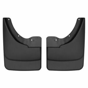 Husky Liners 57091 Rear Mud Flaps Black For 2005 2011 Dodge Dakota