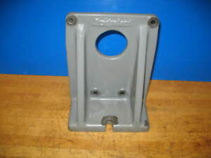 Bridgeport Milling Machine 12 Rotary Table Vertical Mounting Bracket vgc