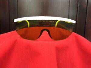 Lumenis 1064nm Nd yag Laser Safety Glasses light Green With White Arms