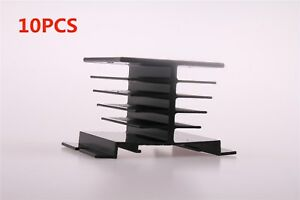 10x Aluminum Heat Sink 80mm X 50mm X 50mm For Ssr Solid State Relay