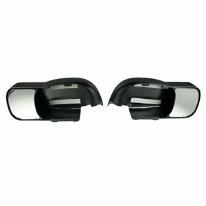 Towing Door Mirror Extension Pair Set For Dodge 1500 Pickup Truck Ram 3500 2500