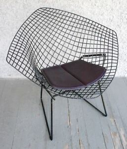 True Vintage Bertoia Diamond Chair By Knoll Classic Modern Lounge Italy Tag