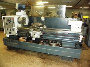 21 X 60 Harrison Model M500 Geared Head Engine Lathe