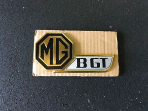 Nos Mg B Mgb Gt Mgbgt Liftgate Tailgate Badge Emblem Gold