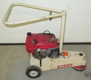 Edco Tg 7 Turbo Grinder 7 Concrete Floor Edge Grinding Scarifier 5 5hp Gas