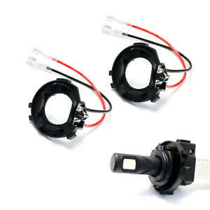 H7 Led Headlight Bulb Retainers For 15 up Volkswagen Mk7 Golf Gti low Beam