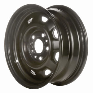 01400 Refinished Ford Ranger 1984 1994 14 Inch Steel Wheel Rim Oe Black