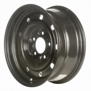 03394 Refinished Ford F150 Truck 2000 2004 16 Inch Black Steel Wheel Rim
