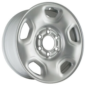 03557 Refinished Ford F150 Truck 2004 2008 17 Inch Silver Steel Wheel Rim