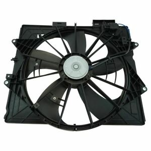 Engine Radiator Cooling Fan Assembly For Cadillac Cts Srx Sts Brand New