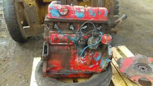 Early Ford 4000 Engine Assembly Short Block Ddpn6010c