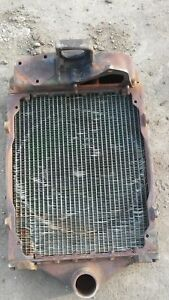 John Deere Model A Cast Iron Radiator Assembly Marked A2367r A3317r