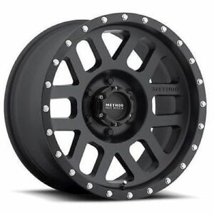 Method Race Wheels Mr30689058518 18x8 5 75 18mm Offset Mesh Matte Black Wheel