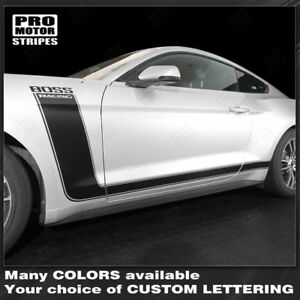 Ford Mustang 2015 2017 Boss 302 Style Side Stripes Decals Choose Color