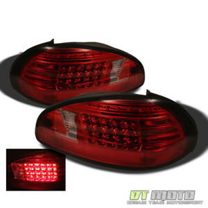 1997 2003 Pontiac Grand Prix Led Red Smoked Tail Lights Lamps Left Right