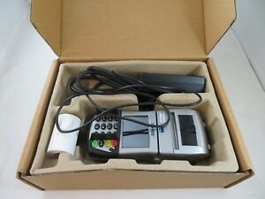 Used Retail Business First Data Fd400ti Credit debit Card Terminal