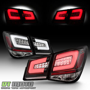 Black 2012 2016 Chevy Cruze Lumileds Led Tail Lights Brake Lamps Pair Left right