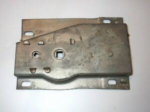 49 50 Packard Rear Back Trunk Deck Lid Lock Catch Handle Latch Plate Mechanism