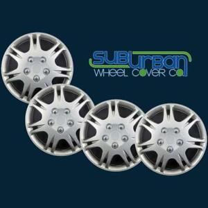 Mitsubishi Galant Style 14 Replacement Hubcaps Wheel Covers 439 sm New Set 4