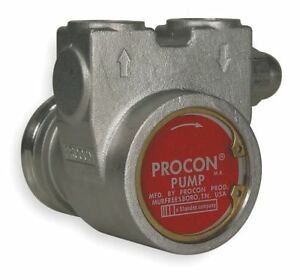 Procon 3 8 Stainless Steel Rotary Vane Pump 112 Max Flow gph 113a100f31ba