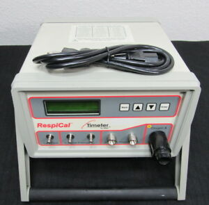 Allied Respical Timeter T300 Calibration Analyzer oxygen Flow Pressure