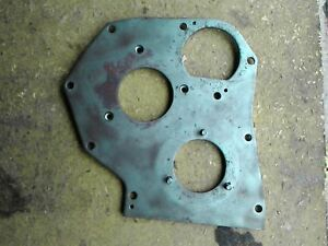 John Deere M Mt Mc 40 Tractor Part Engine Front Plate Cover