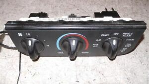1997 Ford F250 Ac Temp Controls Part Number F65h 19e764 ab