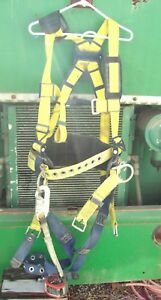 Dbi Sala Delta Safety Harness Xl With Miller Scorpion Personal Fall Limiter