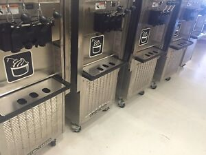 Five Used Electrofreeze Sl500 Soft Serve Machine