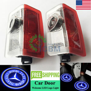 2x Cree Led Door Courtesy Laser Logo Lights Mercedes C Class 2 Doors Coupe 10 19