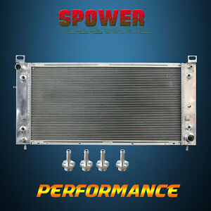 3 row core Aluminum Radiator For Cadillac Escalade Chevrolet Gmc 99 14 34 Core