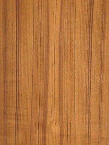 Teak Wood Veneer Quartered Paper Backer Backing 2 X 8 24 X 96 Sheet