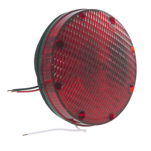 Grote Stt Lamp 7 Red School Bus Double Contact 50132