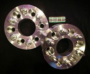 2 Pcs 6 Lug 6x4 5 Aluminum Wheel Spacers Adapters 1 5 Sold In Pairs Fits Nissan