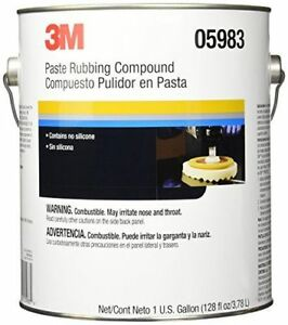 3m 5983 Perfect it Ii Rubbing Compound 05983 1 Gallon