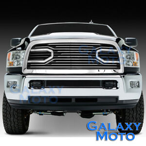 10 17 Dodge Ram 2500 3500 hd Front Hood Big Horn Chrome Replacement Grille shell