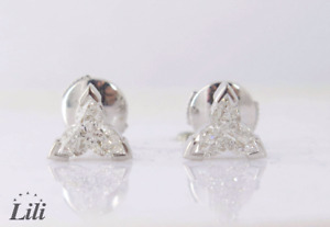 Black Friday Special Sale - My Love Diamond Earrings 1.29Ct G Color SI