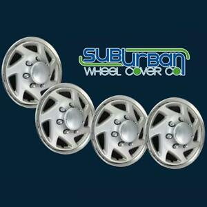 Ford F150 Truck Ford E150 Van 15 Replacement Hubcaps Wheel Covers 9415c Set 4