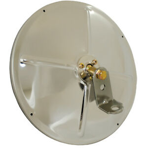 Grote 8 1 2 Convex Mirror With Center Mount Ball Stud Stainless Steel