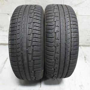 215 60r16 Nokian Tyres Wrg3 99v Tire 8 9 32nd Set Of 2 No Repairs