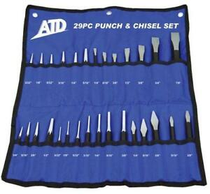 29pc Punch And Chisel Set Atd 729