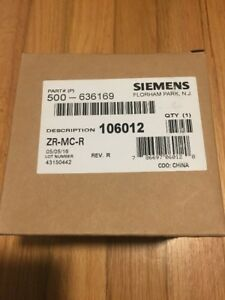 New Siemens Zr mc r Fire Alarm Strobe Pn 500 636169