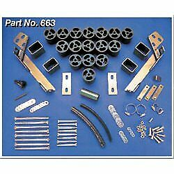 Performance Accessories Body Lift Kit New Ram Truck Dodge 1500 2500 Pa663