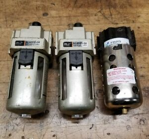 Two New Rlp Al4000 04 Oilers And An Arrow F352f5 Water Separator Air Compressor