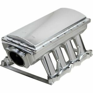 Holley 833151 Intake Manifold For 2011 15 Ford F 150 Mustang 5l 8cyl Silver 90mm