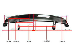 New For Honda S2000 Rear Gt Spoiler Sp Style Racing Drift Wing Sets Carbon Fiber